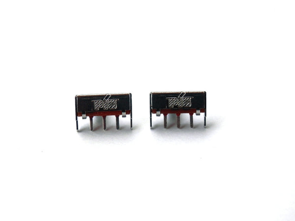 2 PACK Slide Switch Button 1P2T 0.5A 50V DC