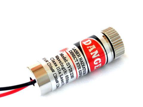 Red Laser Diode Line Pointer Module 650nm 5mW