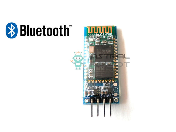Wireless Serial 4 Pin Bluetooth RF Transceiver Module HC-06 RS232