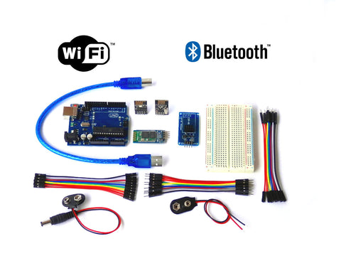 Arduino-Compatible UNO R3 ATMega328P IoT Internet of Things Kit