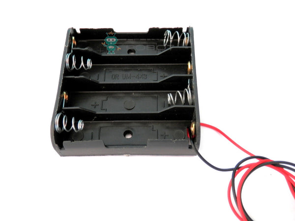 4 x AA Battery Holder Case 6V