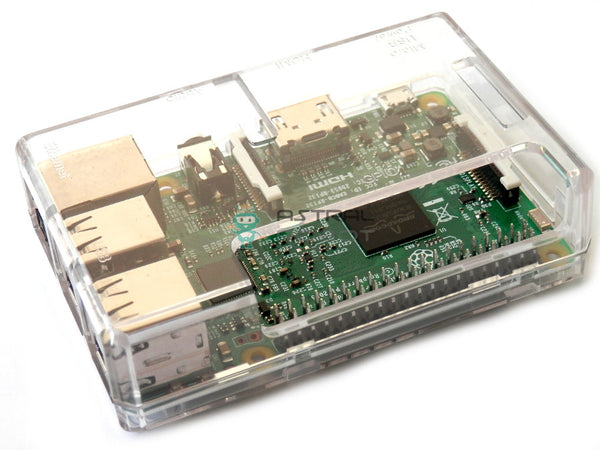 Clear Case for Raspberry Pi 3 Model B