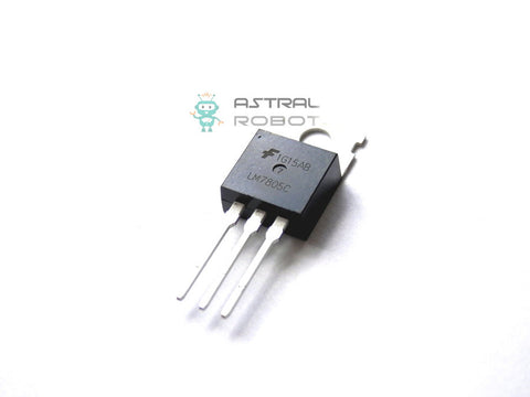 Fairchild - LM7805CT Linear Voltage Regulator 5V 1A TO-220