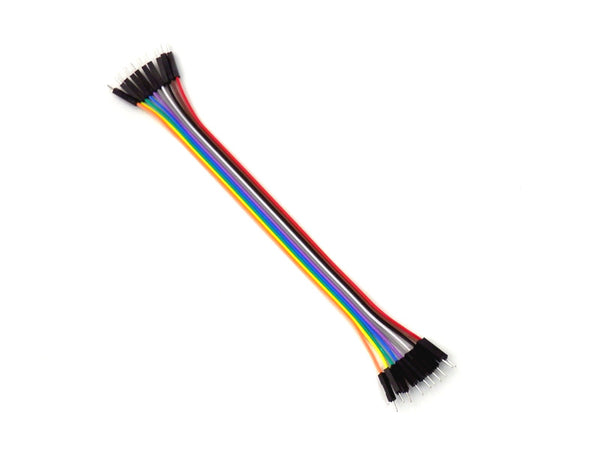 10 PACK Dupont Male to Male Jumper Wires 20cm