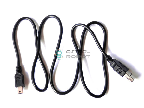 USB 2.0 to Mini B Data Cable for Arduino 80cm