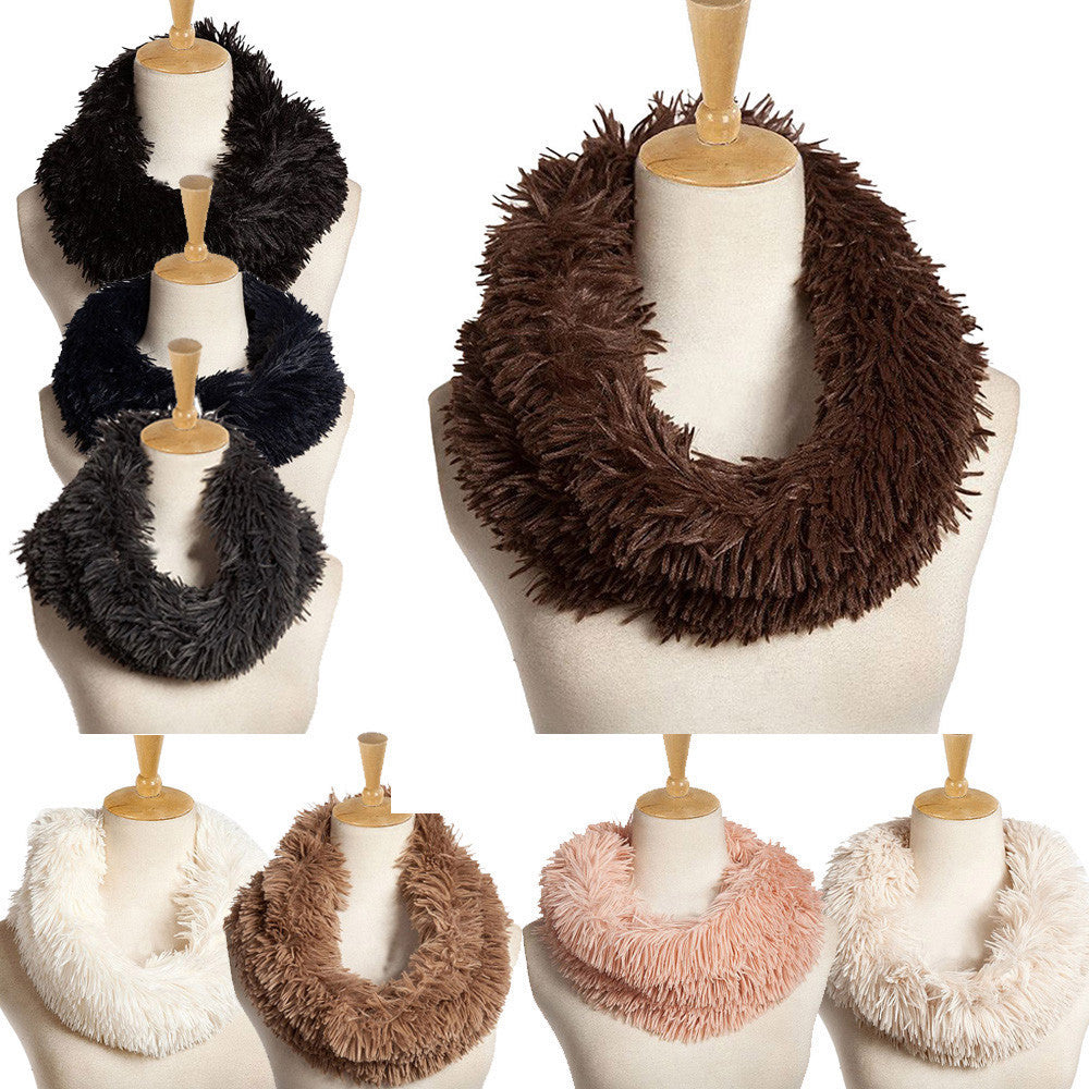 Fuzzy Circle Scarf – Everything Fuzzy
