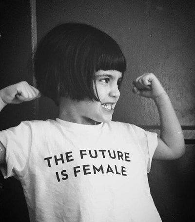 The Future is Female Child's T-Shirt