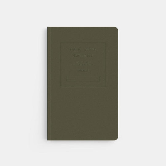 Embossed Notebook with Dot Paper