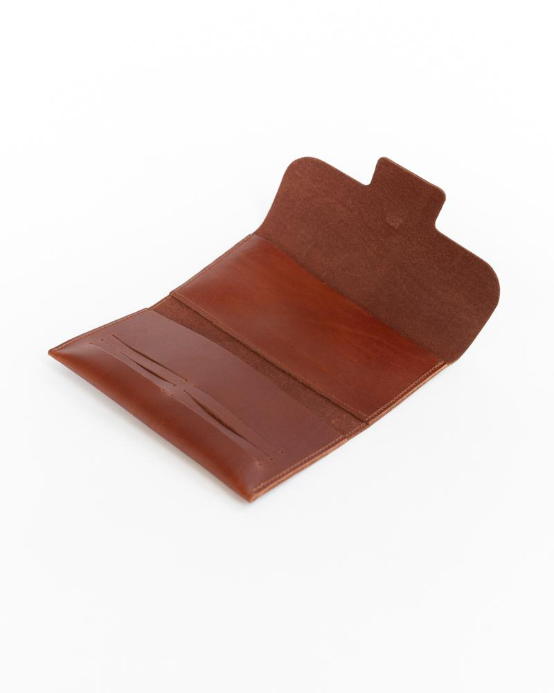 Post Wallet in Cognac