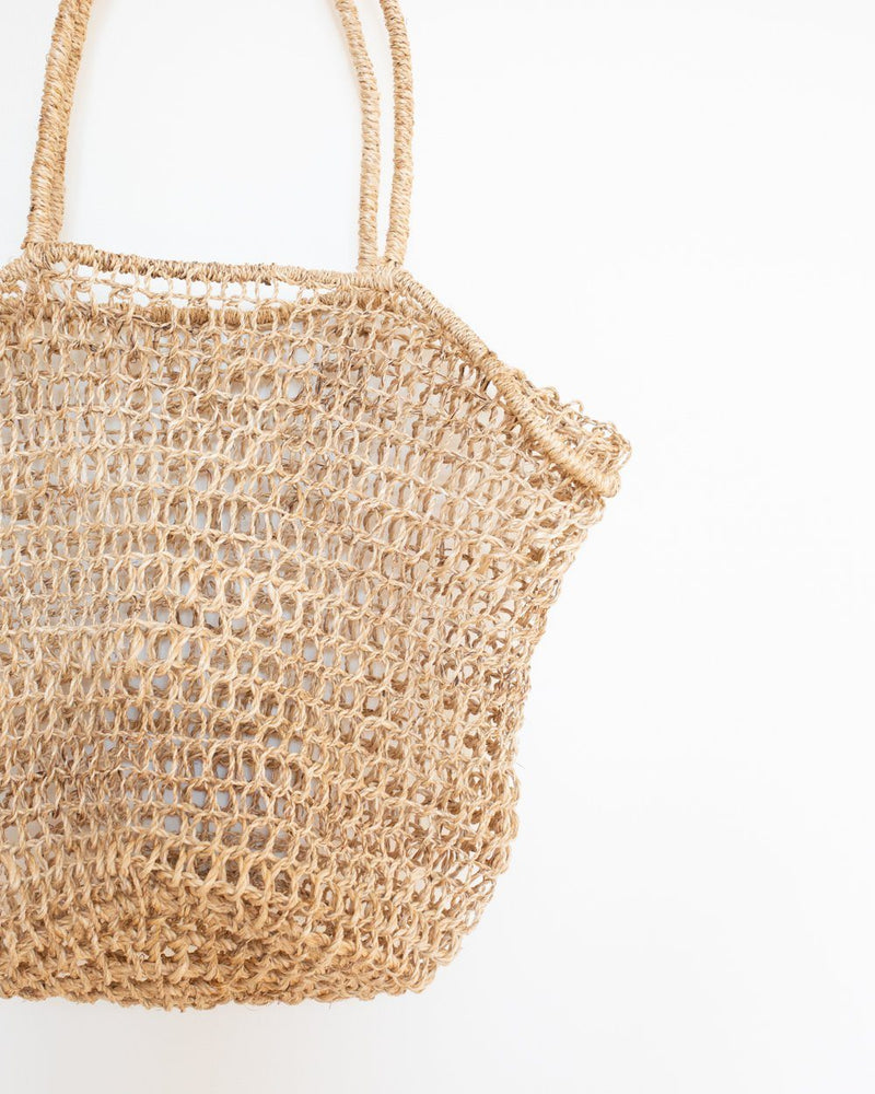 Marina Basket Tote in Natural