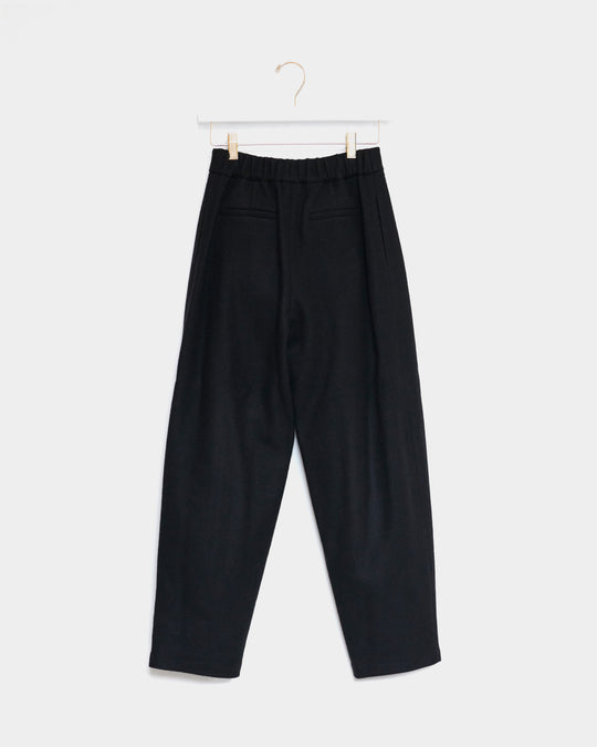 Garconne Wool Pants in Black