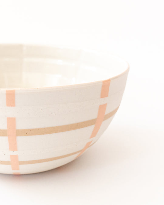Basket Inlaid Bowl in Blossom