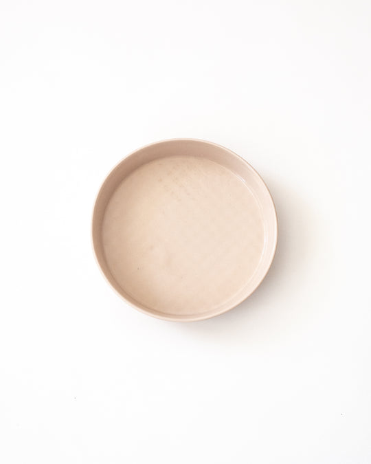 Large Round Tray in Blush