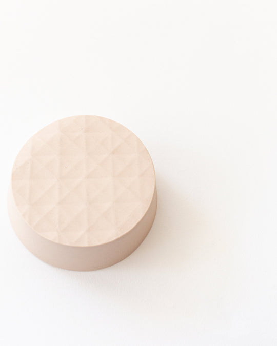 Small Round Tray in Blush