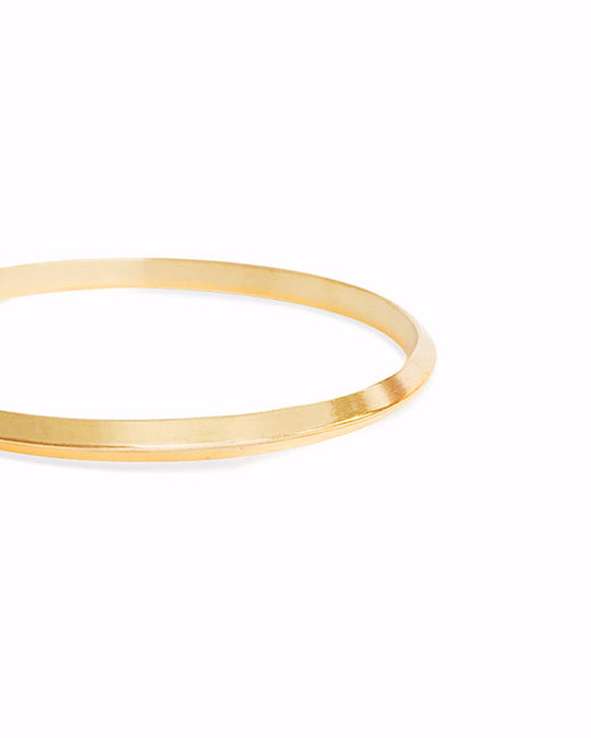 Gaze Bangle in Bronze