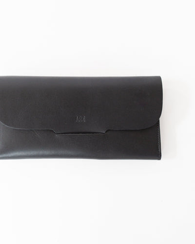 Post Wallet in Black
