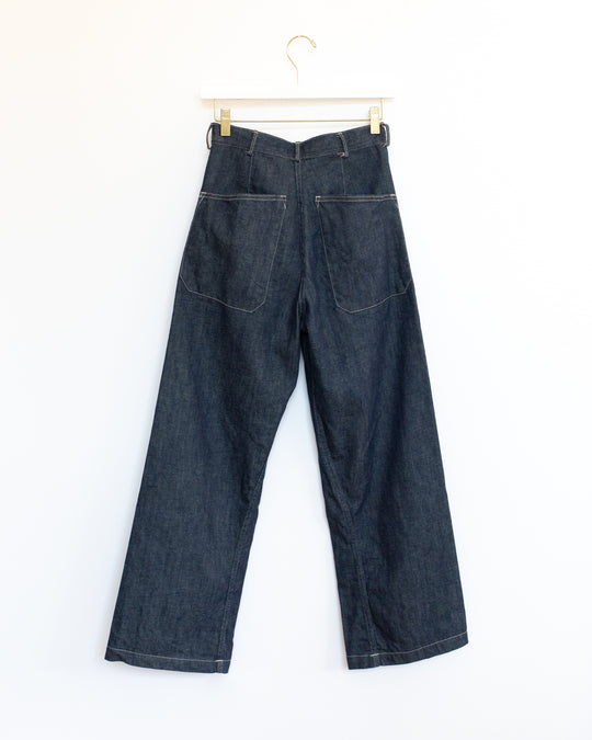 Brancusi Pant in Denim