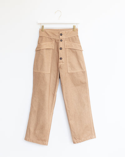 Tanker Pant in Sugar