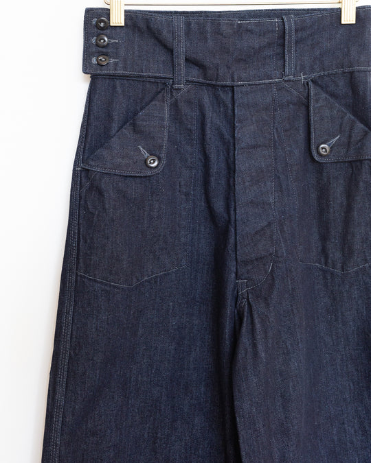 Willow Pant in Dark Indigo