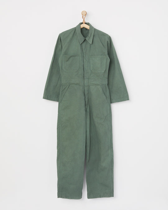 Zip Jumpsuit in Eucalyptus