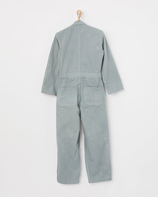 Zip Jumpsuit in Soapstone