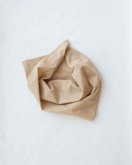 Square Scarf in Warm Beige