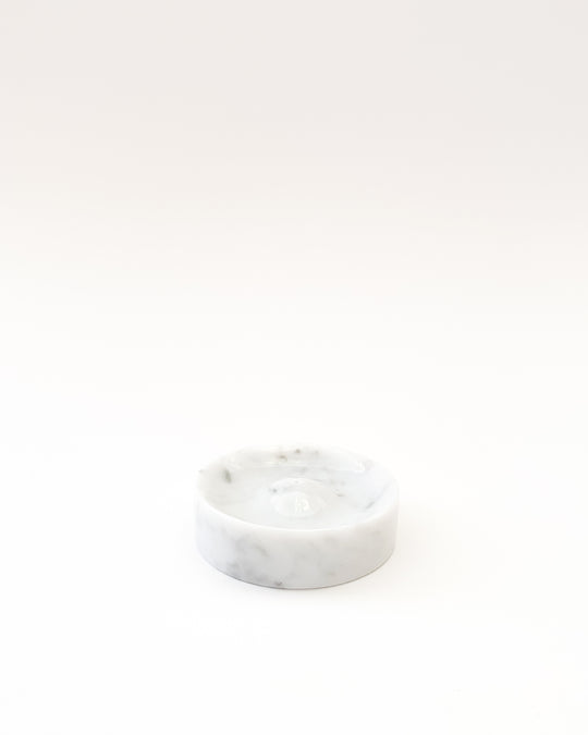 Incense Holder in Carrara Marble