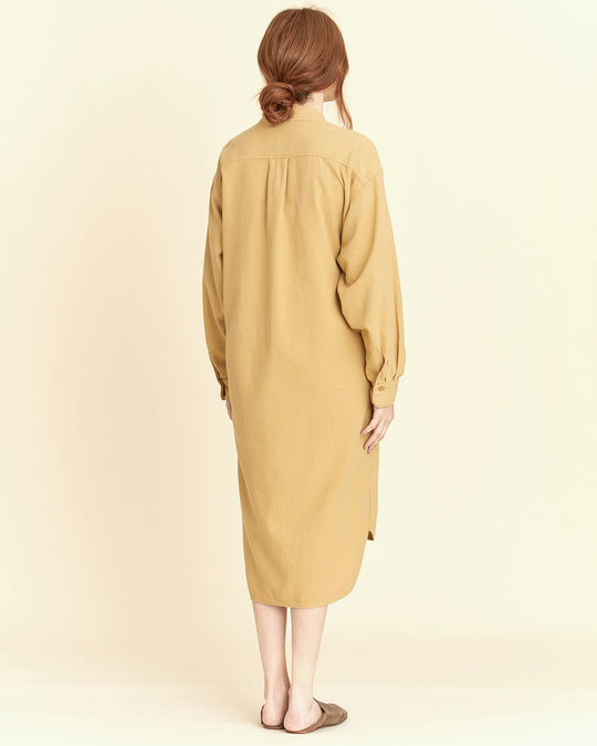 Meca Dress in Tan