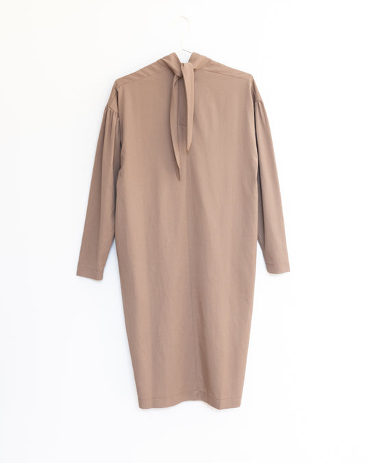 Walnut Dress in Camel