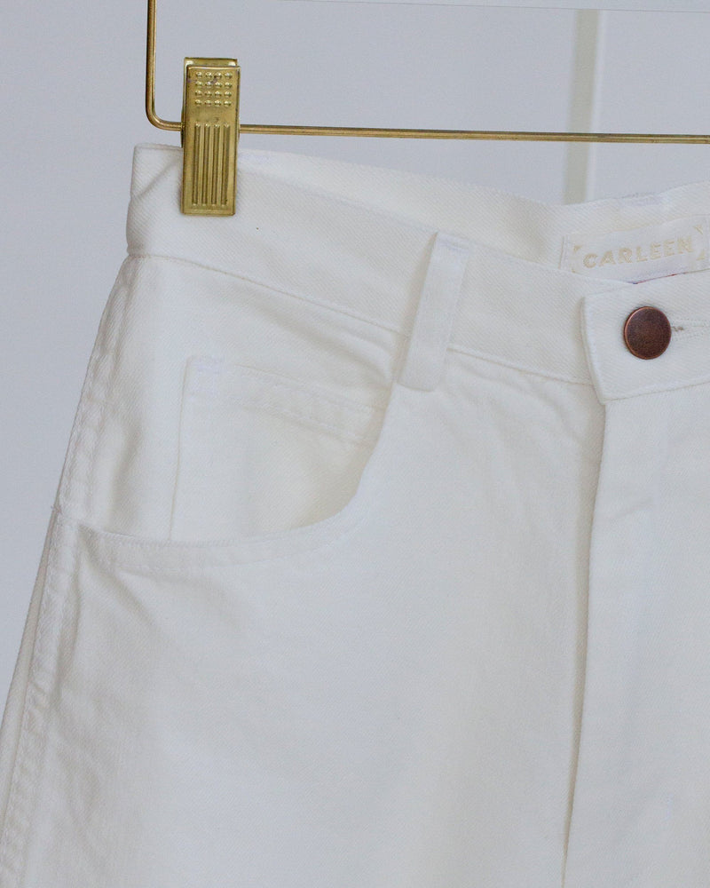 Nellie Jeans in White