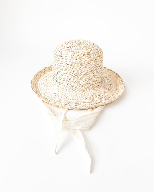 Saturna Hat in Palm w/ Neck shade