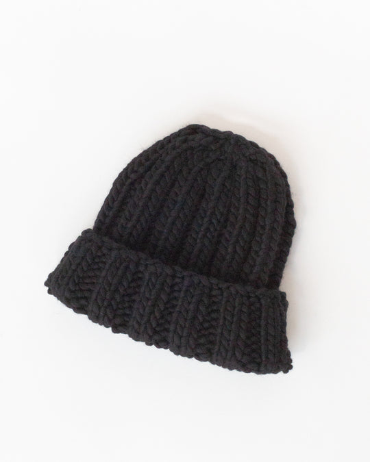 Fold Hat in Black