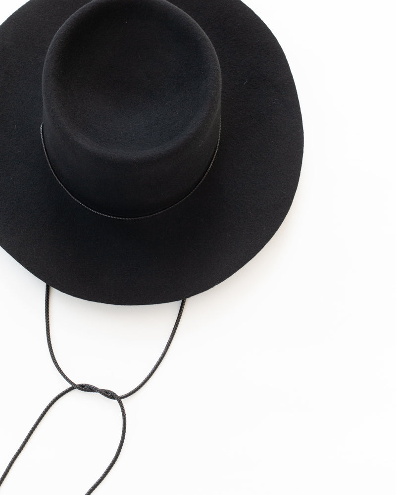 Gaucho Hat in Black