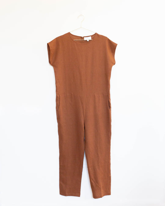 Le Saint Germain Jumpsuit in Rouille