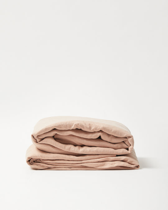Sheets in Clay Pink