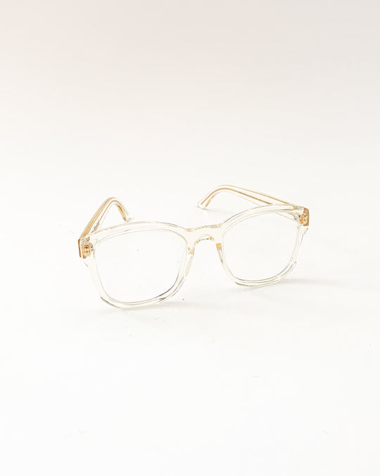 BQE Optical Glasses in Lemon