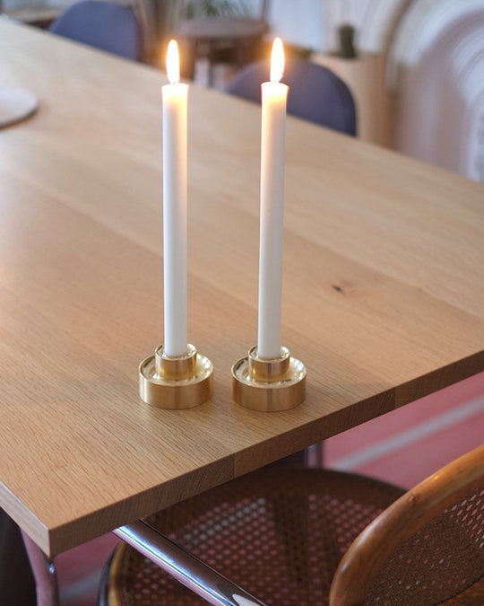 Brass Stacking Candle Holder