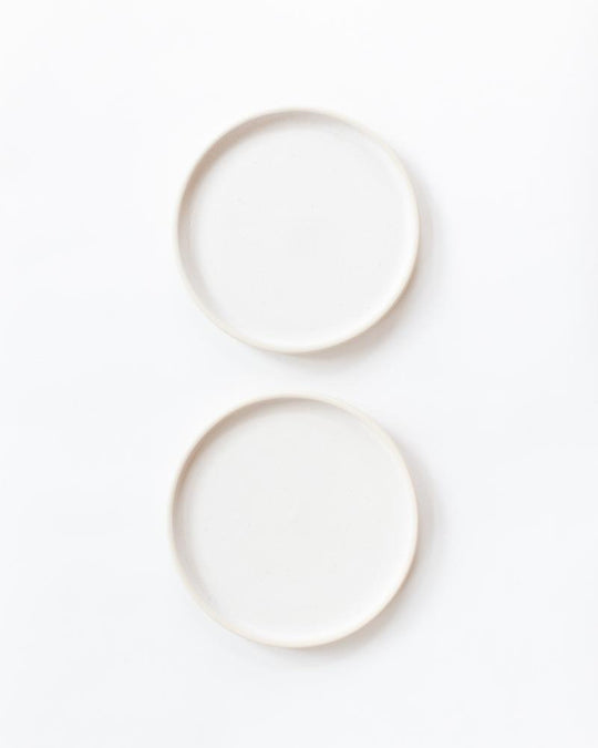 Otto Plate Set in White