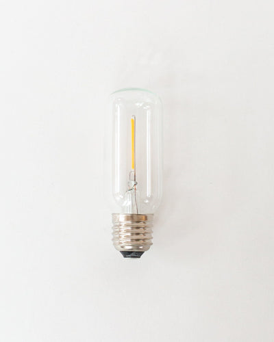 Atelier Cylinder Bulb in Clear