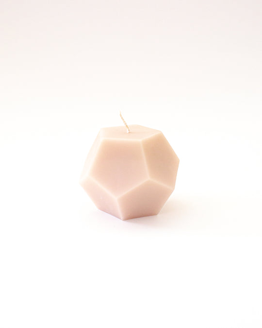 Dodecahedron in Blush
