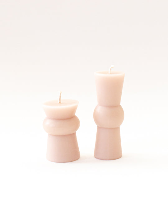 Josee Pillar Medium in Blush
