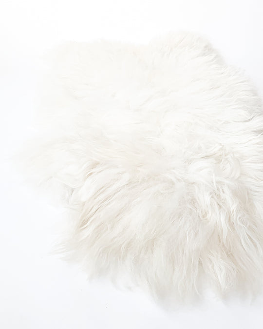 Icelandic Sheepskin in White