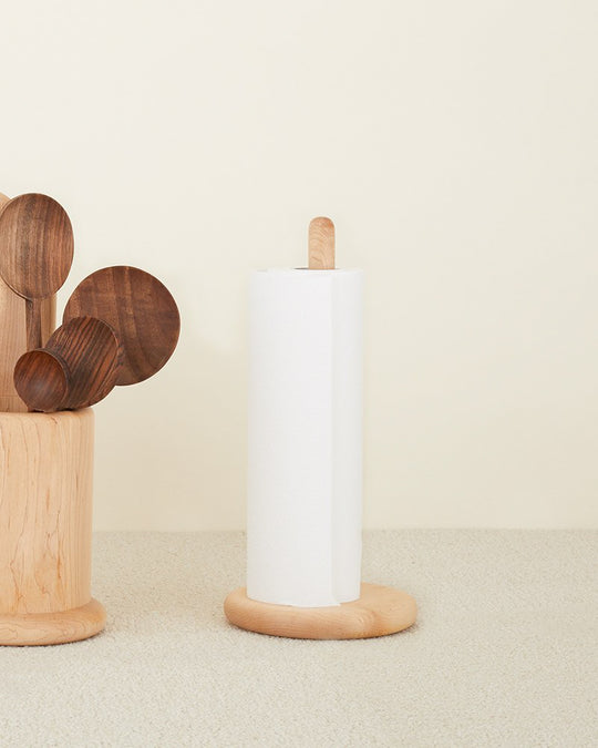 Simple Wood Paper Towel Holder