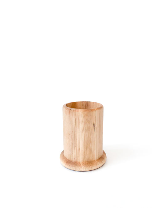 Simple Wood Utility Canister