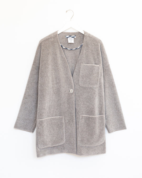 Arden Coat in Chinchilla Heather