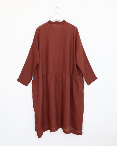 Linea Tessile Italiana Dress in Brown