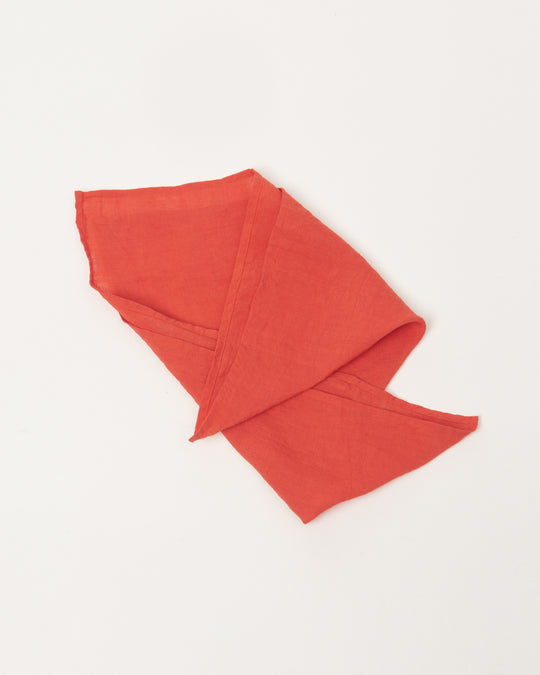 Color Linen Cloth in Red