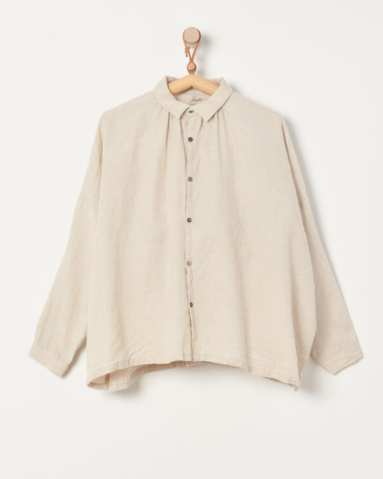 Twill Tumbler Shirt in Natural