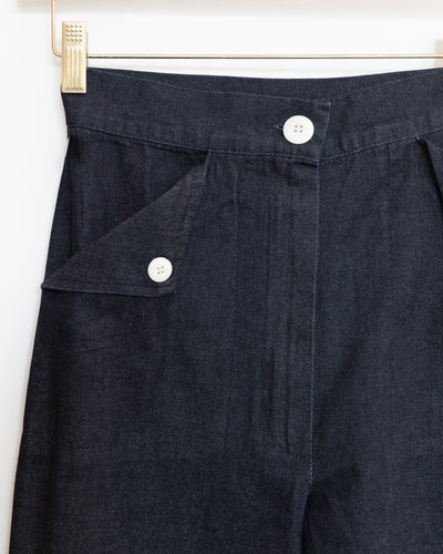 Huxie Pants in Dark Denim
