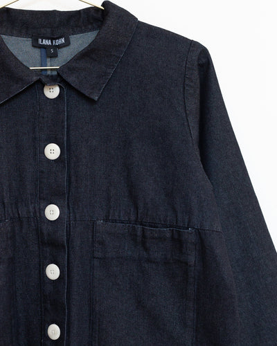 Mabel Jacket in Dark Denim
